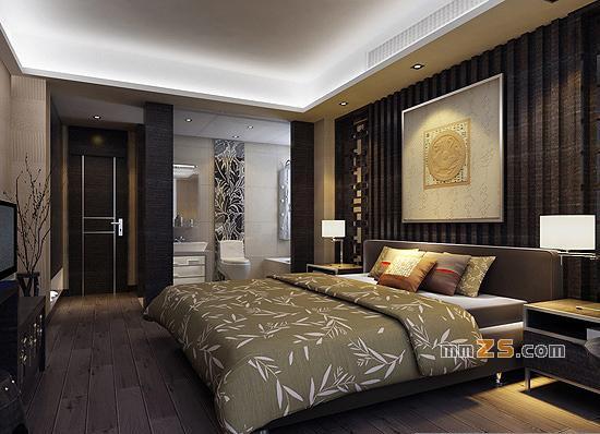 一套仿古现代中式家居装修方案6张效果图 中国展览设计网